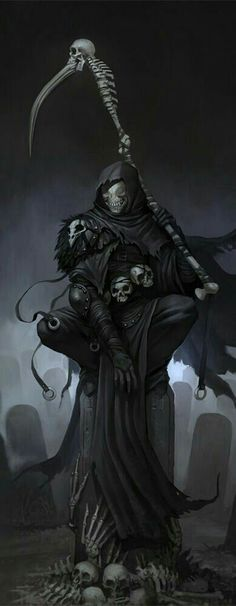 New gothic wallpaper dark fantasy grim reaper ideas wallpaper stefan koidl continues to create spooky illustrations and you shouldnt click if youre easily frightened Fantasy Kunst, Dark Fantasy Art, Dark Art, Arte Horror, Horror Art, Fantasy Creatures, Mythical Creatures, Angels And Demons, Airbrush Art