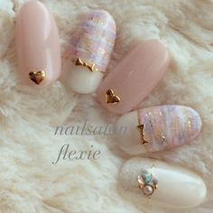 Gorgeous Nail Designs For Special Events Kawaii Nail Art, Pink Nail Art, Cute Nail Art, Gel Nail Art, Pink Nails, Minimalist Nails, Hot Nails, Hair And Nails, Japan Nail
