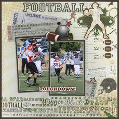 Touchdown Layout by Carolyn Lontin