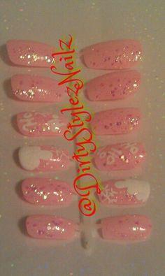 Pink winter Wonderland Press Ons #art #nailart #nailgurl #nailgurlsc #nailswag #nailsdone #nailgasm #nailsaddict #nailsdesign #nailpolish #nailstagram #nailsoftheday #nailsofinstagram #nailartoninstagram #nailartclub #girls #naillacquer  #style #fashion #nailsoftheweek #nailcolor #nailartjunkie #polish #dirtystyleznailz #nails2inspire #nailsdid #nailpromote #nailsbydirtystyleznailz #nailstagram #nails #nailartpromote #nailartoohlala #nailart #nail #nailswag #nailartclub #naildesigns…