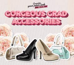Complete your prom look with darling vintage-inspired accessories! #blamebetty #grad #prom
