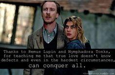Remus Lupin & Nymphadora Tonks <3