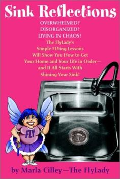 Sink Reflections by Marla Cilley -- The FlyLady's first book (excellent).