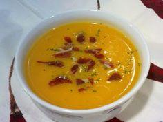 CREMA DE CALABAZA en la Olla rápida Wmf, Cilantro, Thai Red Curry, Beans, Food And Drink, Healthy, Ethnic Recipes, Blog, Soups