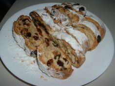 Take Your Taste Buds On a Trip To Germany With This Yummy Stollen Christmas Bread - Page 2 of 2 - Recipe Roost Christmas Bread, Christmas Breakfast, Christmas Baking, German Christmas, Magical Christmas, Christmas Goodies, Christmas Stuff, Christmas Recipes, Holiday Recipes