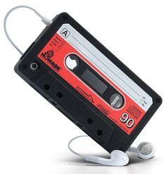 Resultado de imagem para iphone cover cassette