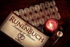 #Runen #holz #laserart Candle Jars, Candles, Laser Art, Tea Lights, Runes, Timber Wood, Tea Light Candles, Candy, Candle Sticks