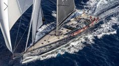 Baltic Yachts Delivers 130 Custom Sail Boat