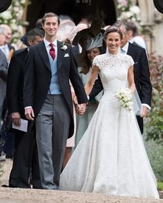 Royal Family Around the World: Wedding Of Pippa Middleton And James Matthews at St Mark's Church on May 20, 2017 in Englefield Green, England.