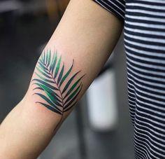 Zihee leaf tattoo