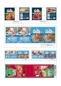 Watt's - Diseño de envases de Mermeladas y Ketchup (Chile)