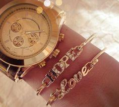 Wire Love Bracelets