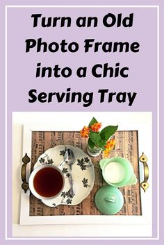 DIY Chic Serving Tray!