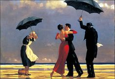 Couple Dancing in the Rain Painting; Image Source Page: http://rainpictures.org/Dancing-in-the-rain.html