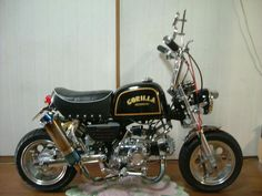 Mini Motorbike, Kids Motorcycle, Motorcycle Garage, Custom Mini Bike, Japanese Monkey, Mini Chopper, Dirt Bike Racing, Cafe Racer Honda, Honda Cub