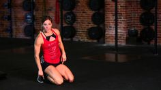 Kneeling Jump Squat for Explosiveness with Andrea Ager