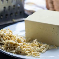 Learn how to make foolproof dairy free nut cheese using almonds - it slices and grates too. #vegan