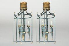 Vintage French Lantern   Bourgeois Boheme