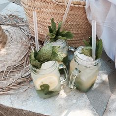 drink, summer, and green-bild