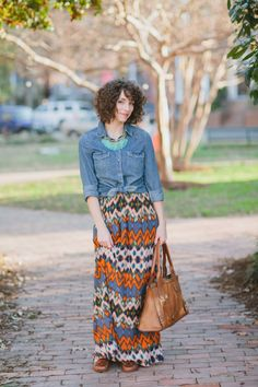 Wardrobe Wednesday | Spring Maxi Dress