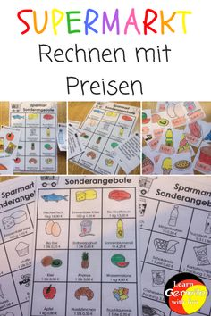 Lesekompetenz in der Grundschule- Material - Learn German With Fun Learn German, The Right Stuff, How To Attract Customers, Woodland Party, Holiday Cocktails, Business Design, Eat Cake, Science, Learning