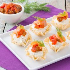 Salmon Cheese Bites #InspireTheSeason