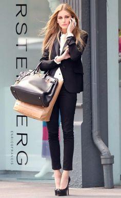 オリヴィア・パレルモ風にタイトなパンツで決める♪ おすすめのスーツコーデまとめ。人気のトレンドファッションの参考一覧。