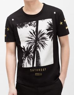 Zara Saturday tee - that should be mine!