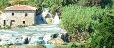 Cascate del Mulino a Saturnia Terme.