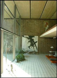 Private home of the Danish architect Knud Holscher Denmark Danish Interior Design, Alvar Aalto, Amazing Buildings, Danish Modern, Modern Architecture, Sweet Home, Outdoor Decor, Inspiration, Home Decor