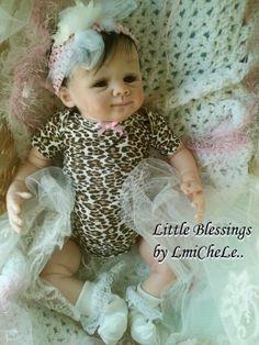 From the Elsie Kit  Reborn Baby Doll 18 inch by littleblessingslm, $160.00
