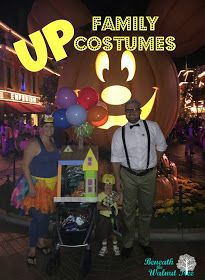 Beneath The Walnut Tree: DIY Family Costumes: Russell and Kevin