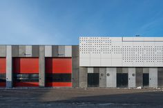 Port Centre and HQ, Port of Aarhus de C.F. Møller | Edificios administrativos
