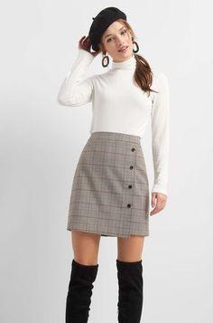 Waist Skirt, High Waisted Skirt, Mini Skirts, Casual, Outfits, Fashion, Moda, High Waist Skirt, Suits