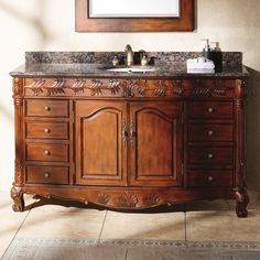 "James Martin Furniture Classico 60"" Single Bathroom Vanity Set & Reviews 