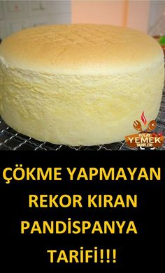 sünger gibi çökmeyen pasta keki tarifi – – Vegan yemek tarifleri – Las recetas más prácticas y fáciles Easy Desserts, Delicious Desserts, Dessert Recipes, Drink Recipes, Sponge Cake Recipes, Sponge Recipe, Pastry Cake, Pastry Recipes, Turkish Recipes