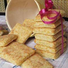 Villámgyors sajtos keksz - Blikk Rúzs Salty Snacks, Winter Food, Superfoods, No Bake Cake, Scones, Hamburger, French Toast, Bakery, Muffin