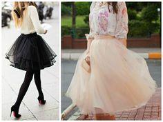 Saia de tule   Look de princesa para todos os estilos