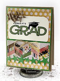 HandKrafted by Stephanie: Congrats Grad