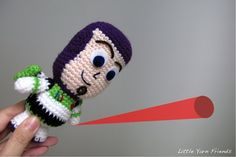 Crochet Pattern: Lil' Buzz Lightyear. Free Pattern. He is adorable have to make!