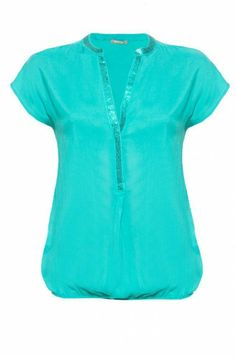 Orsay Breezy Blouse in Aqua Corporate Wear, Fasion, My Wardrobe, Fashion Dresses, Plus Size, Clothes For Women, My Style, Womens Fashion, Casual