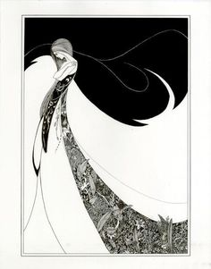 Aubrey Beardsley, one of the main proponents of the Art Nouveau movement