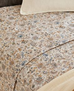 Imagen 3 del producto FUNDA NÓRDICA ESTAMPADO PAISLEY Linen Bedroom, Bed Linen, Linen Bedding, Zara Home Canada, Border Print, Paisley Print, Duvet Covers, Prints, Home Decor