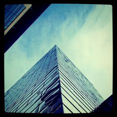 Looking up at the different architecture in Glasgow by @155AlbionStreet