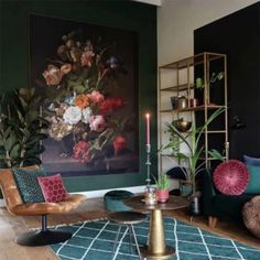 A Dutch House That is Filled With Plants, Art, and The Colour Green - Dear Designer Interior Styling, Interior Decorating, Interior Design, Dutch House, Cosy Corner, Bohemian House, Colorful Decor, Interior Inspiration, Interior And Exterior