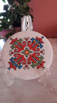 Embroidery Motifs, Cross Stitch Embroidery, Cross Stitch Patterns, Diy Projects To Try, Crochet Projects, Pressed Flower Art, Creative Embroidery, Bulgarian, Macedonia