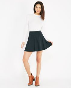 Angelic Skater Skirt : Classy Skater Skirt