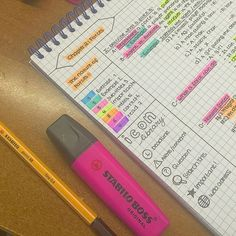 How i color code/ sign :) #studyblr #study #schedule #notetaking #notes #school #markers #pens #stabilo #studygram