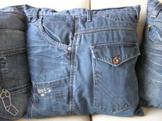 Nice idea for a boys room . Made from old jeans . 2 Boys, Kidsroom, Boy Room, Sewing, Inspiration, Denim, Projects, Iron, Bedroom Kids