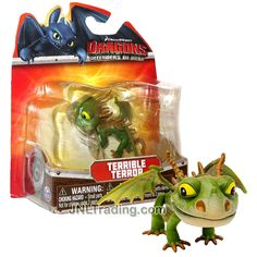 """lot of 2 How To Train Your Dragon 2 Eret  GRUMP DRAGON  ACTION mini Figure 2/""""-3/"""""""